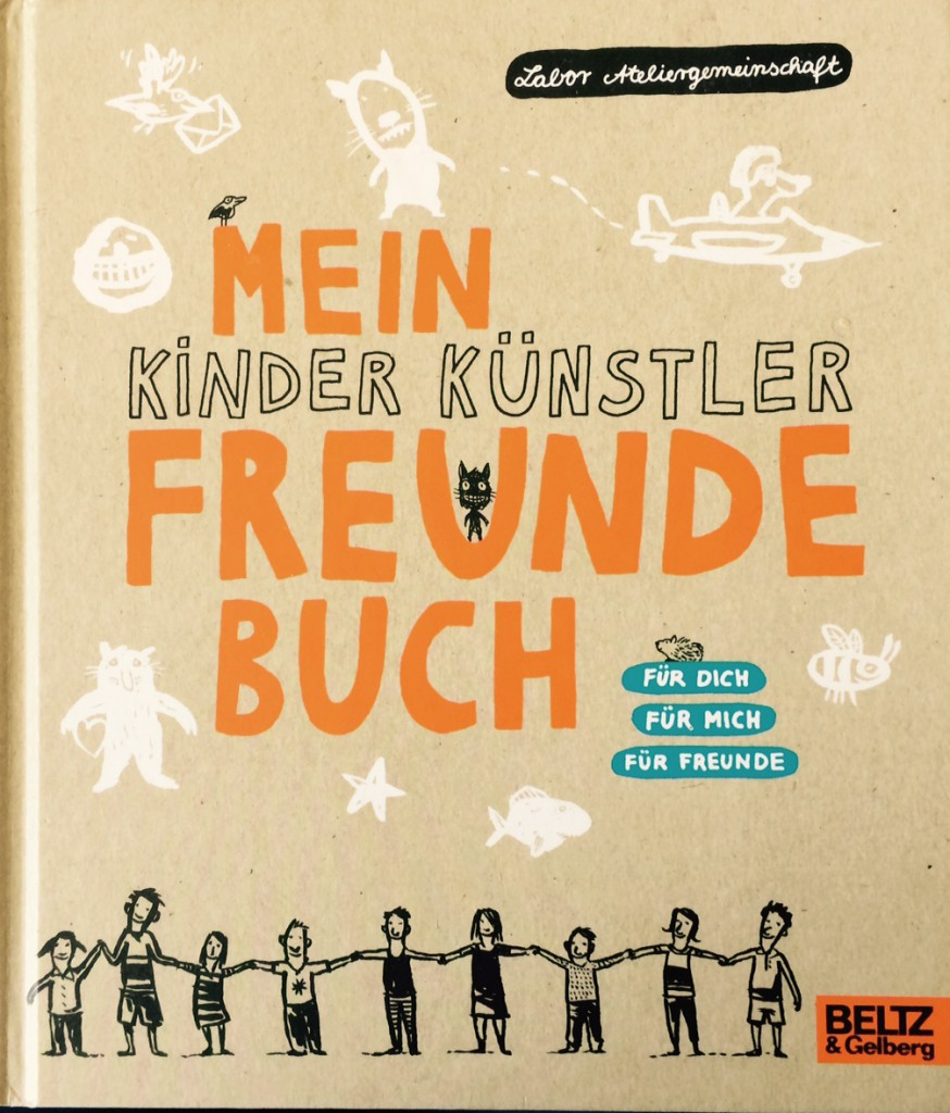 Kinder Künstler Freundebuch