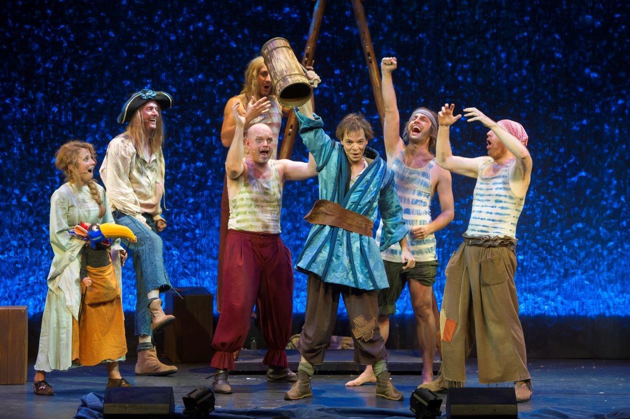 Der Kleine Störtebeker im Schmidt Theater, Reeperbahn Hamburg
