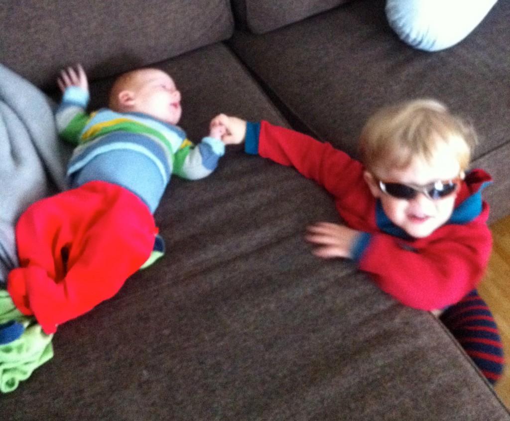 Ich bin cool und er ist klein - Am Anfang kann das Geschwisterchen wenig