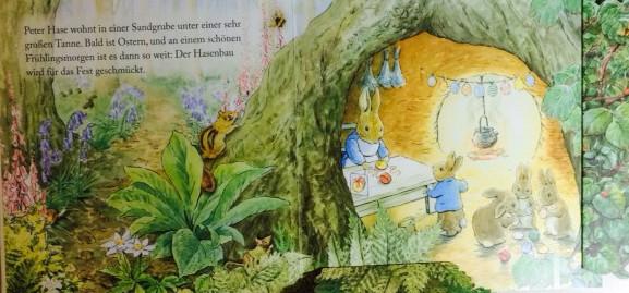 Pop-up Bilderbuch Peter Hase Beatrix