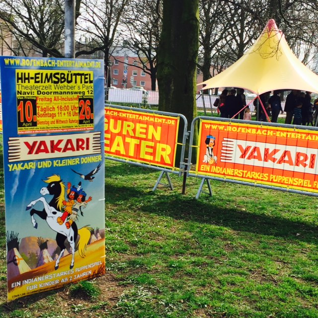 Yakari Puppentheater Wehbers Park eimsbüttel