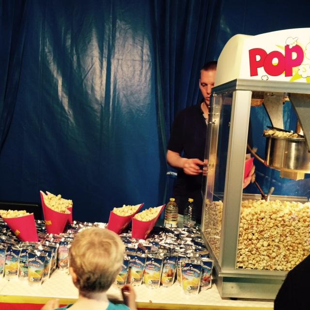 Freitags gibt es Popcorn gratis