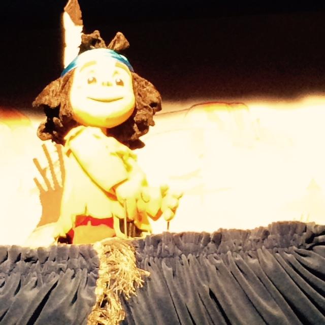 Yakari auf der Bühne