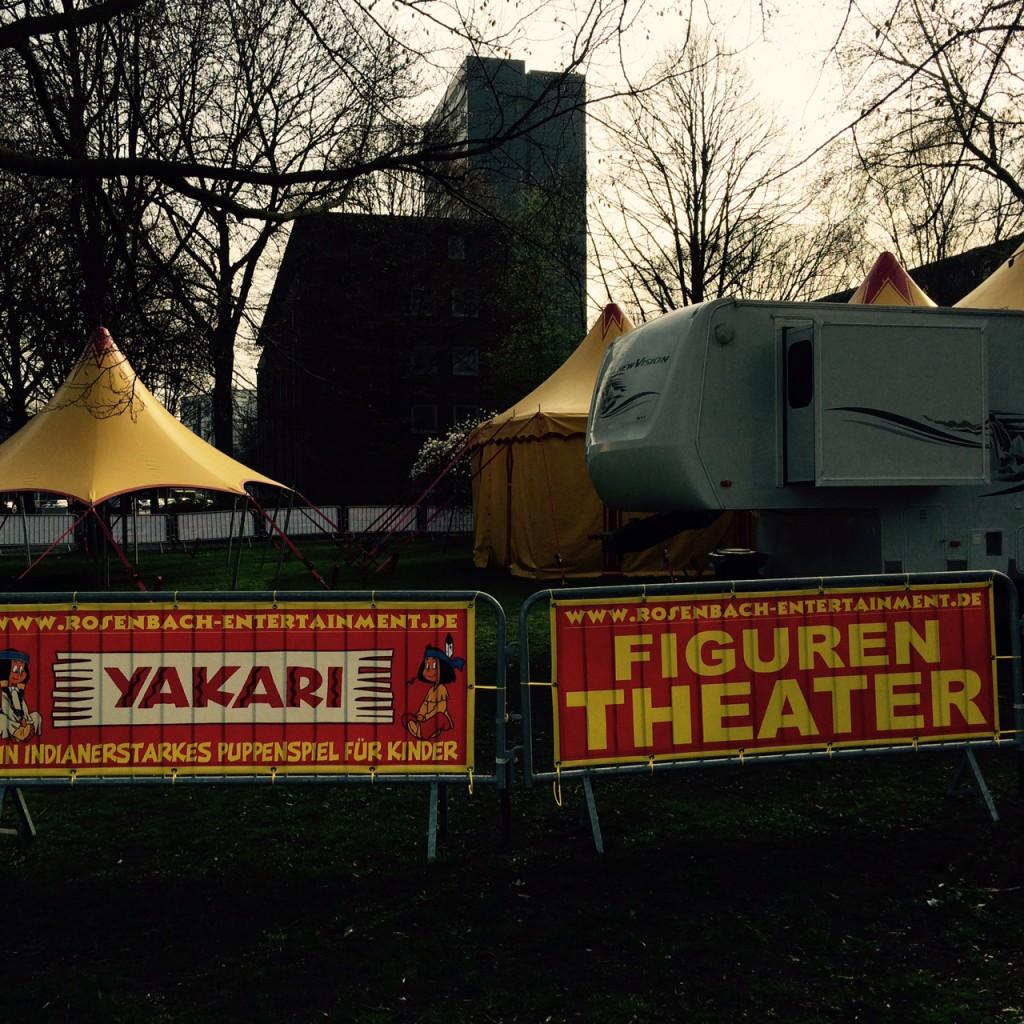 Puppentheater im Wehbers Park, Eimsbüttel
