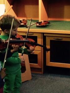 Klingendes Museum Geige
