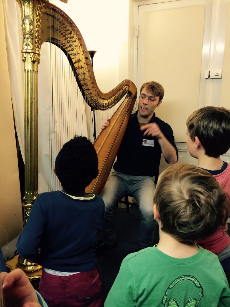 Klingendes Museum Harfe