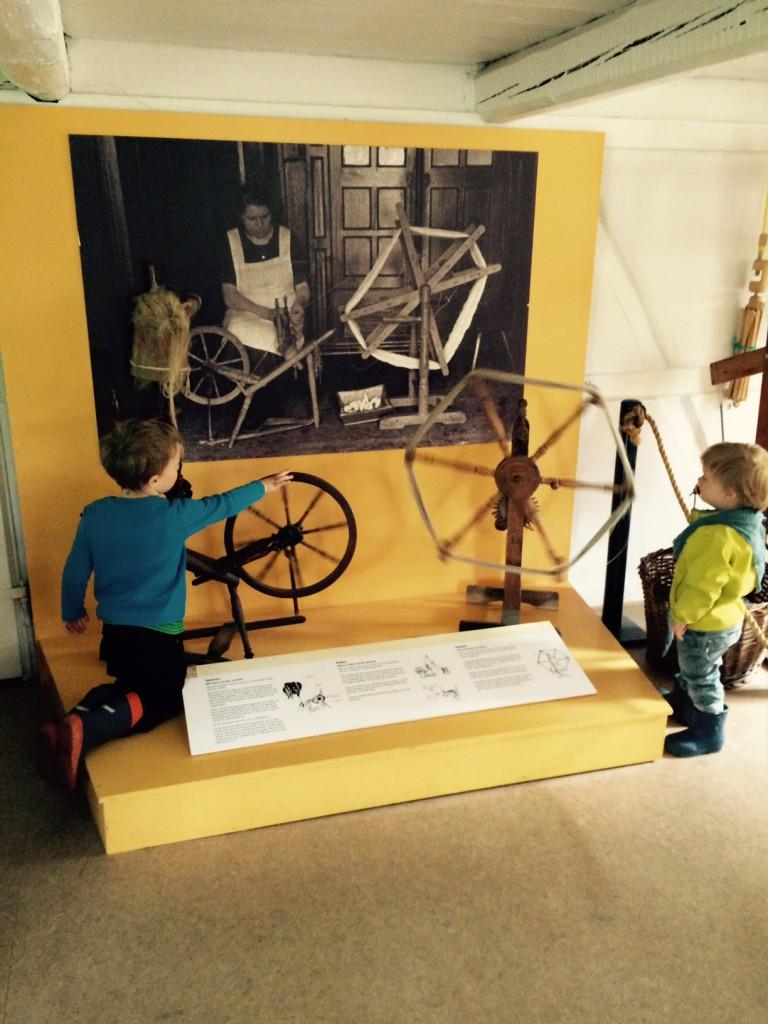 Kiekeberg Museum Spinnrad