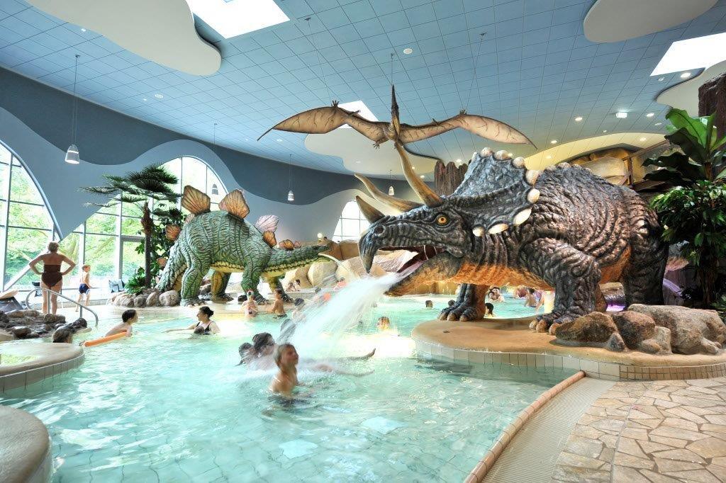 Bäderland Festland Dinosaurier