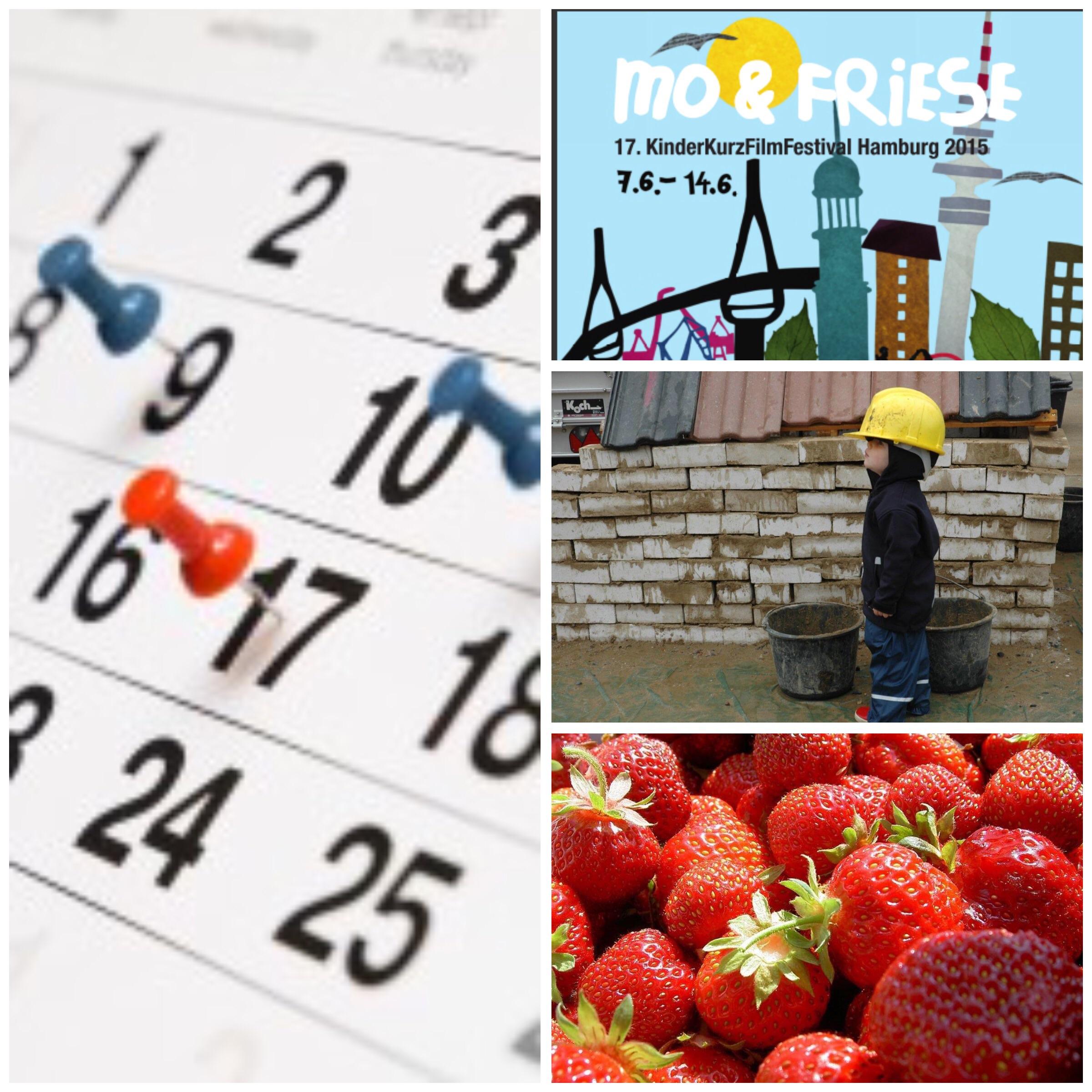 Highlights der Woche Bautraum Erdbeerfest, Kinderkurzfilmfestival