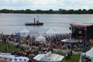Hafenfest Wedel