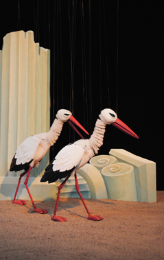 Kalif Storch Marionetten theater
