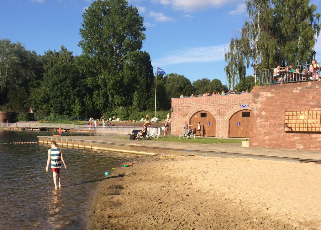 Stadtparksee Strand