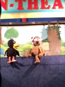 Kleiner Rabe Socke Bär Puppenspiel