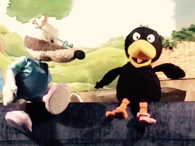 Kleiner Rabe Socke Bär Puppenspiel Hamburg Eimsbüttel Barbers Puppentheater
