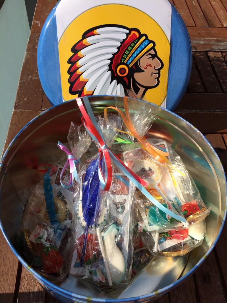 Schatz Indianerschatzkiste Indianergeburtstag Indianerparty Schatzsuche