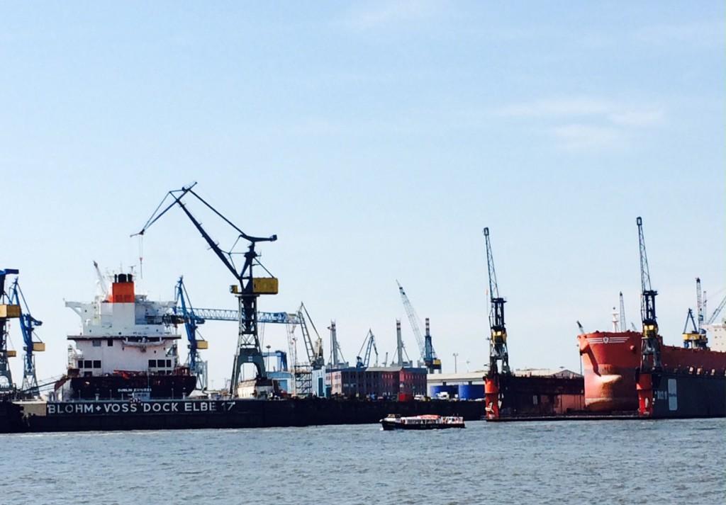 elbe Hafenrundfahrt