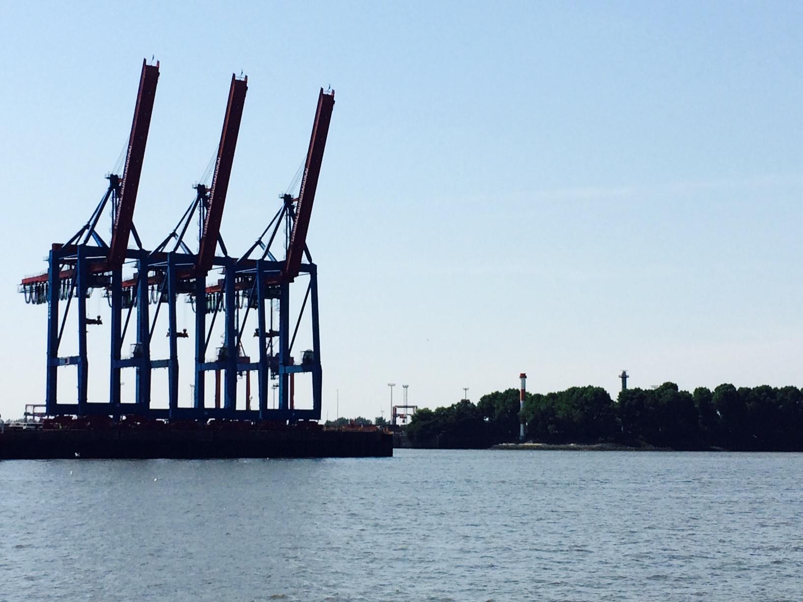 Hamburger Hafen elbe