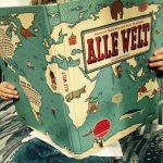 Phantastisches Landkartenbuch: Alle Welt