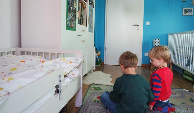 Zu Zweit im Zimmer: Hamburger Jung und Hamburger Knirps