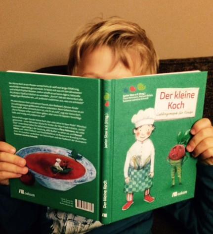 Der kleine Koch Lieblingsrezepte für Kinder Kochbuch für Kinder