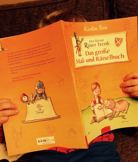Rätselbuch Ritter Trenk