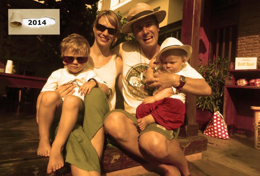 Elternzeit Reise thailand