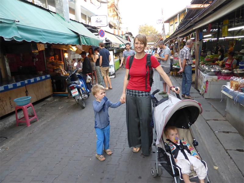 Durch die Altstadt von Chiang Mai