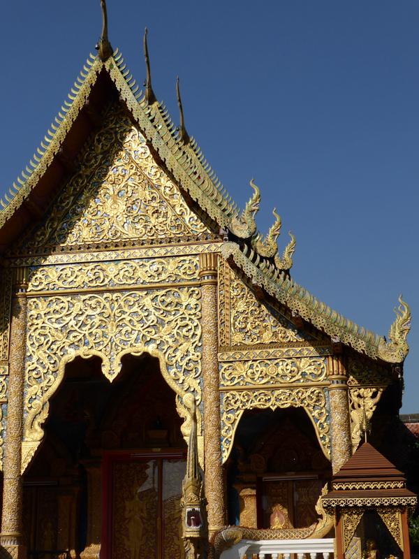 Tempel Chiang Mai Thailand Buddhismus