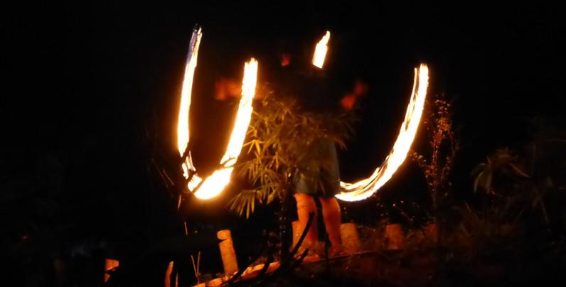 Feuershow Norden Thailand