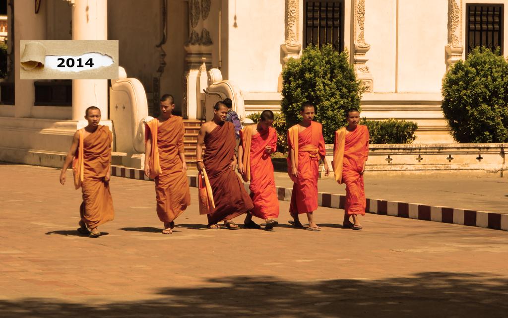 Chiang mai Buddhismus Mönche Tempel