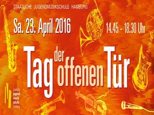 Jugendmusikschule Hamburg Tag der offenen Tür 23. April 2016