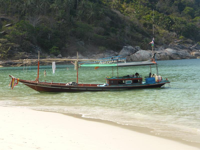 Longtail Boot Koh Phangan