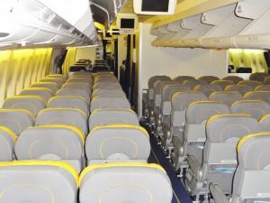 Huch, damit hatten wir nun nicht gerechnet: Das Flugzeug ist leer