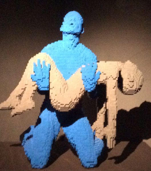 Art of the brick lego-ausstellung nathan sawaya kulturcompagnie