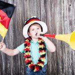 Fünf Mal EM Spaß mit kleinen Kindern