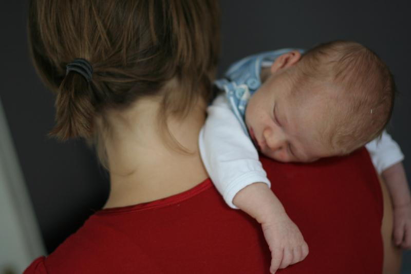 laufen, laufen, laufen - Nur s brachten wir unseren Erstgeborenen zum Enschlafen. Und konnten so nie zusehen, wenn ihm die Augen zufielen
