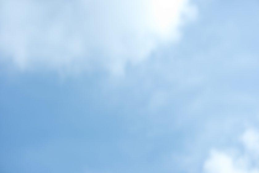 Sommer Himmel Wolkenlos gutes wetter