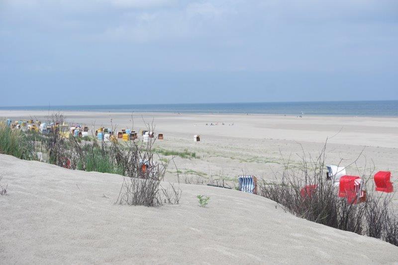 Juist Sandstrand 17 Kilometer