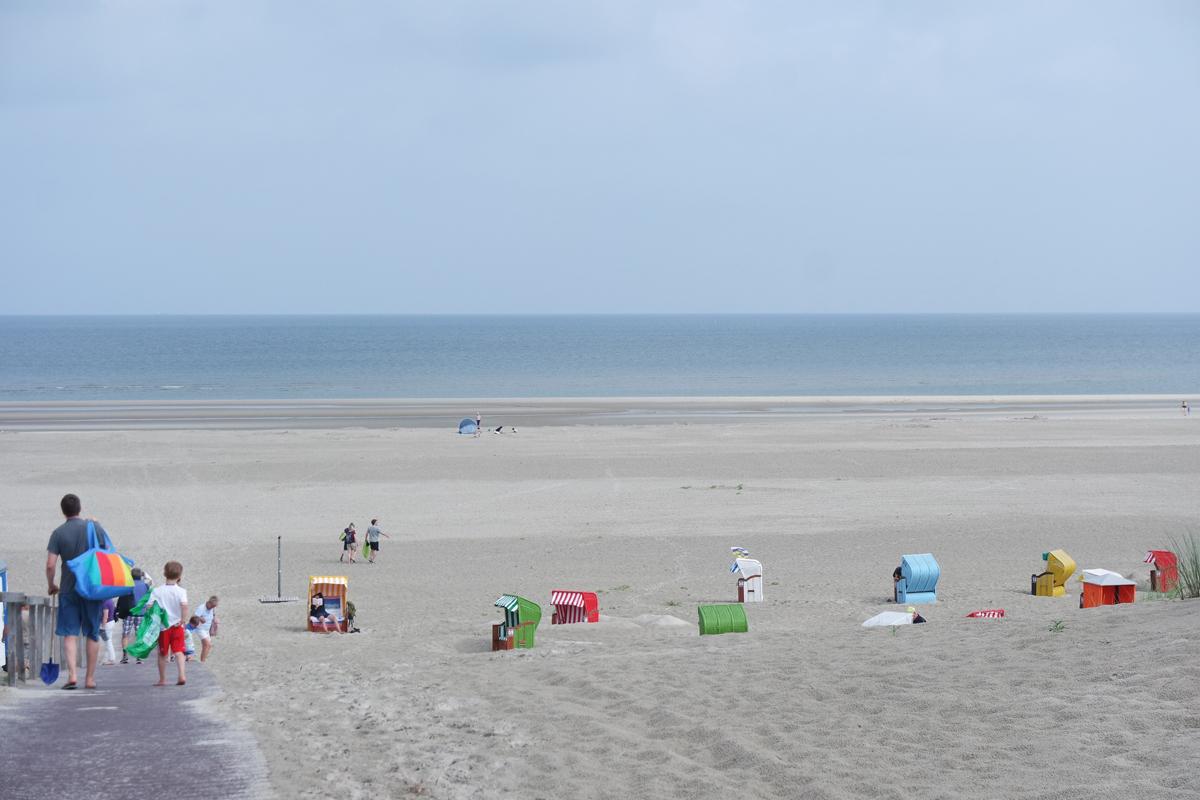 Juist Sandstrand Nordsee