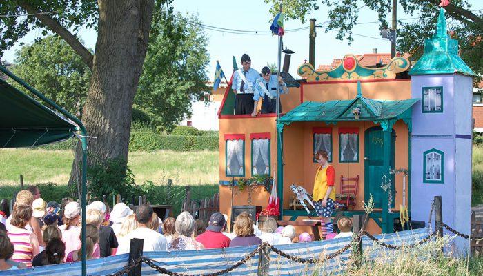Pippi Langstrumpf Theaterschiff Batavia Theater kindertheater Open Air Theater