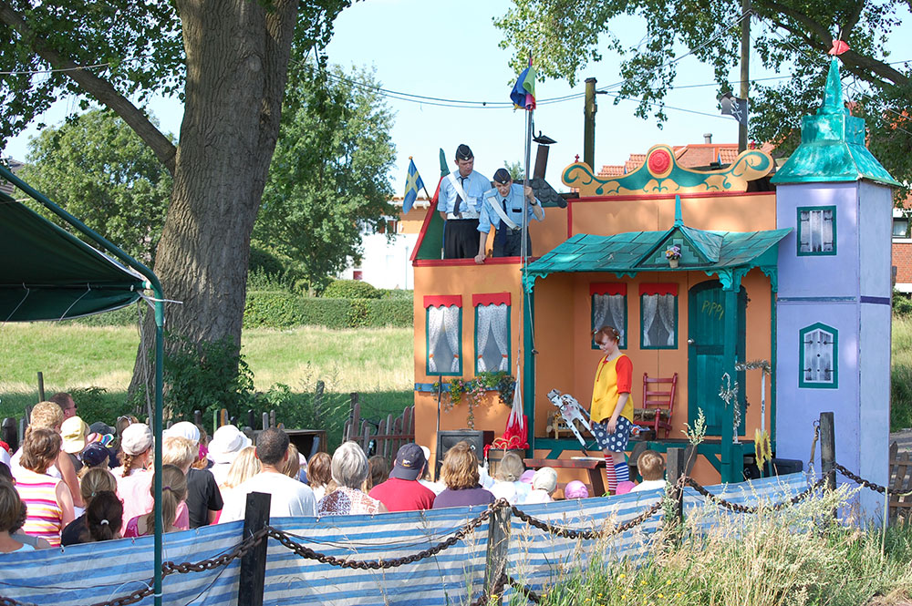 Pippi Langstrumpf Theaterschiff Batavia Theater kindertheater Open Air Theater