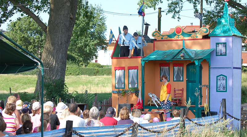 Pippi Langstrumpf Theaterschiff Batavia Kindertheater Open-Air