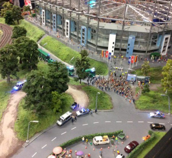 Miniatur Wunderland Volkspark Stadion HSV