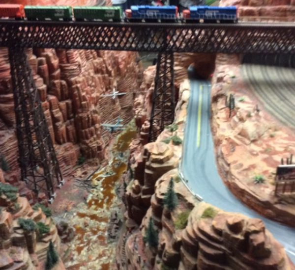 Miniaturwunderland Hamburg Grand Canyon