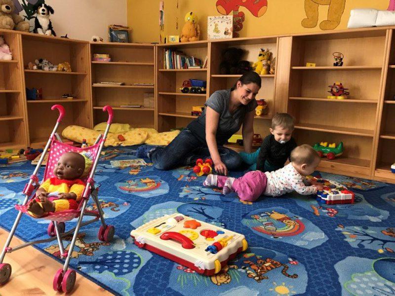 Dorfhotel Fleesensee Krabbelstube für Babys ab 8 Monaten