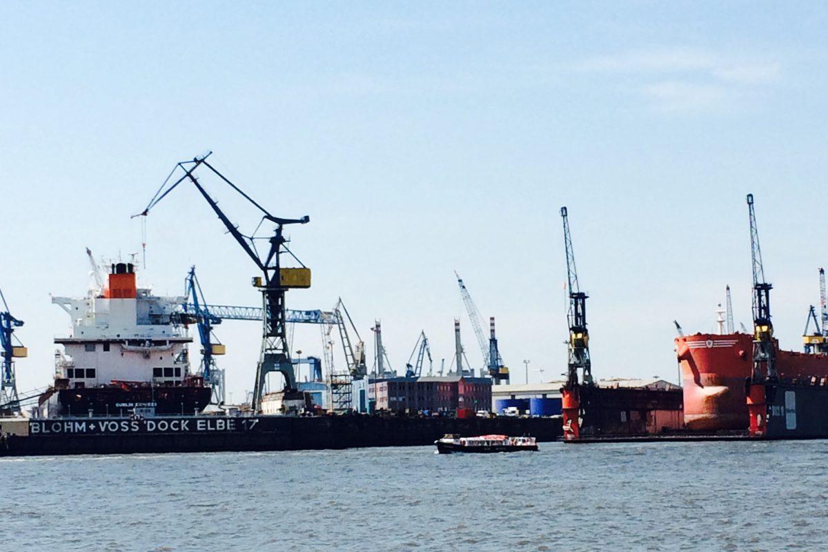 Hamburg Hafen Städtereise Citytrip