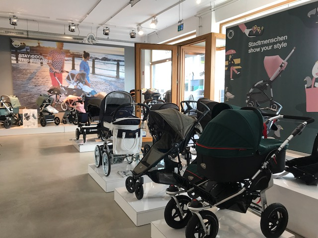 Familienbande Hamburg Kinderwagen Bugaboo Stokke Joie Emmaljunga