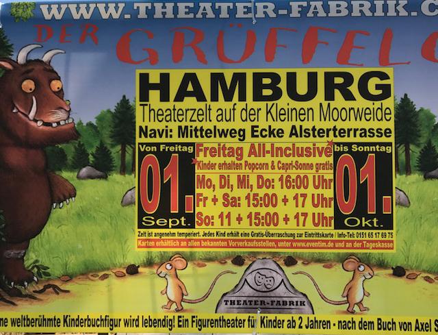 Grüffelo Theaterzelt Hamburg Theaterfabrik