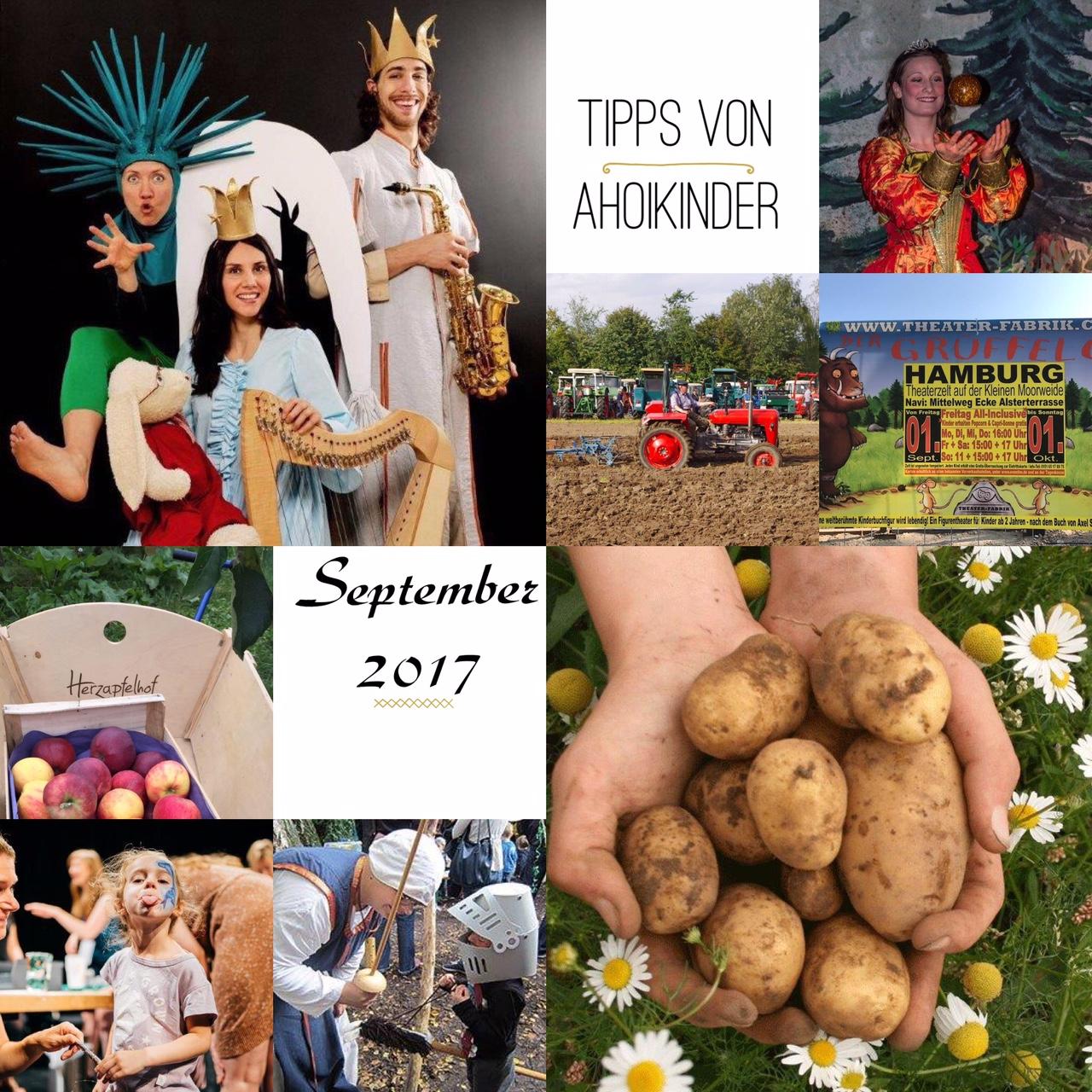 Hamburg mit Kindern September 2017 Familien Grüffelo Theater