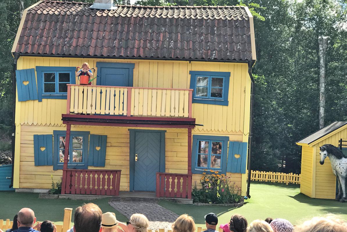Astrid Lindgrens Welt Villa Kunterbunt Pippi Langstrumpf
